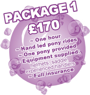 Pony Party Package 1