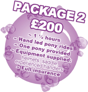 Pony Party Package 2